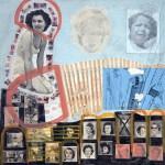 Tres Jolie, 2007-2008, mixed media on wood panel